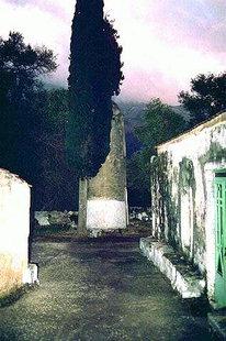 L'église d'Agios Nikolaos et la tour Vénitienne, Moni