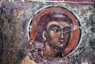 Μια τοιχογραφία στην εκκλησία της Παναγίας στη Σπηλιά είναι ένα πρώιμο δείγμα της Κρητικής τεχνοτροπίας