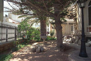 The garden behind the Historical Museum of Crete in Iraklion