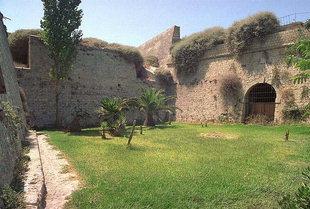 Les murailles Vénitiennes près de la Porte Kainouria à Iraklion