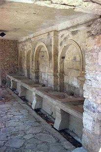 The fountain in Handras