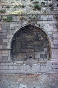 Turkish fountain of Zogrophos St. near the Porta del Lazzaretto, Iraklion