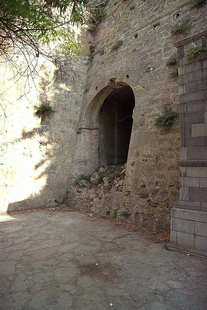 The exit of the Lazzaretto Gate at the base of the Agios Dimitrios Bastion, Iraklion