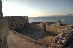 The Turkish fort in Aptera