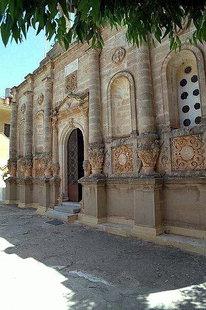 The facade of the monastery church, Moni Gouvernetou