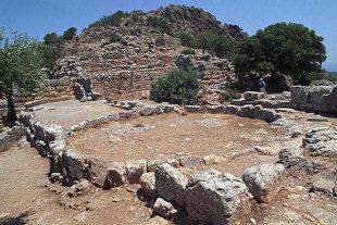 Η Αγορά της αρχαίας πόλης, Λατώ