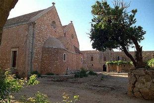 L'église du monastère, Moni Arkadiou