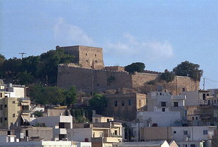 The Venetian fort and the city of Sitia