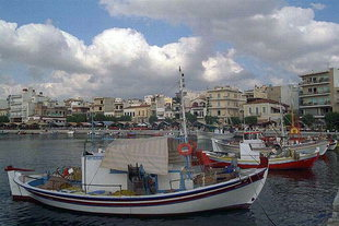 The harbour of Sitia