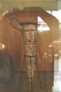 Minoisches Rython, verziert mit dem Stierhorn-Motiv