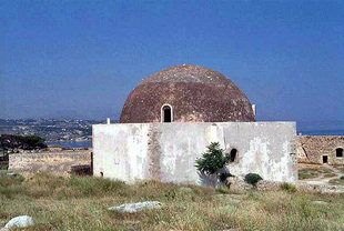 The Ibrahim Han Mosque in the Fortezza, Rethimnon