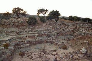 The Minoan site in Vasiliki, Ierapetra