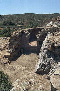 Ruinen in Itanos