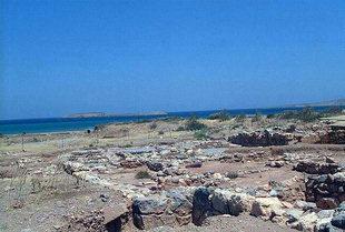 Minoan site in Palaikastro