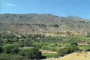 The Minoan site in Zakros