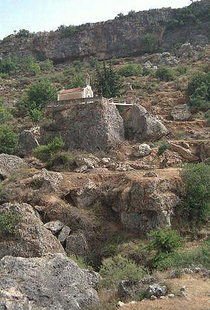 The church of the Panagia on Two Rocks, Fres