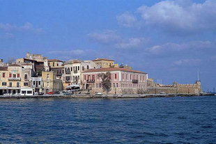 The Firkas Bastion in the harbour of Chania