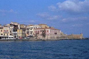 Die Firkas-Bastion am Hafen von Chania