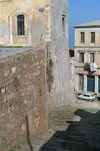 L'escaliers de Kastelli vers le port Chania