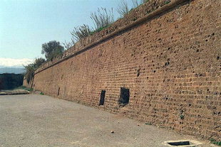 Die venezianische Stadtmauer zwischen Santa Lucia und der Sabbionere-Bastion, Chania