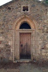 The portal of the Panagia Pantanassa Church, Avdou