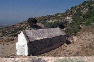 The church of the Panagia Kera Grameni in Meseleri