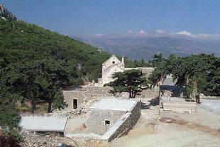 La chiesa bizantina di Panagìa Vriomeni, Meseleri