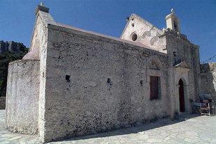 La chiesa di Panagìa Vriomeni a Meseleri