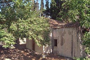 Die byzantinische Agios Georgios-Kirche in Pano Simi