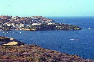 La baie  et le village d'Agia Pelagia, Iraklion