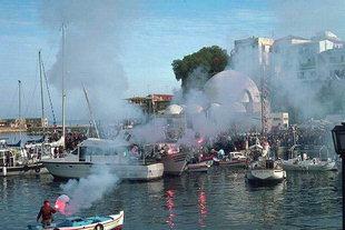 Ο εορτασμός των Θεοφανείων στο λιμάνι των Χανίων