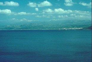 Kastelli viewed from Gramvousa Peninsula