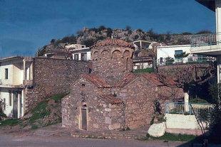 The Byzantine cruciform church of Agia Irini in Axos