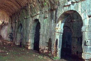Roman cisterns in Aptera
