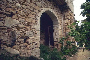 A Venetian portal in the village of Argiroupolis