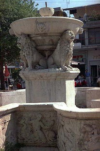 Morosini Fountain in Lions Square, Iraklion