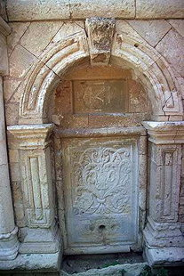 A Turkish Idomeneas fountain behind  the Historical Museum, Iraklion