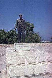 Eleftherios Venizelos' statue in Platia Eleftherias, Iraklion