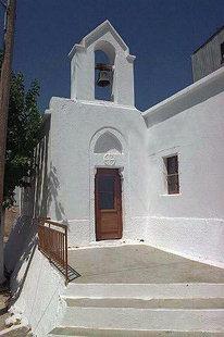 La chiesa di Agìa Paraskevì a Ziros