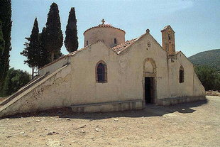 The Byzantine church of the Panagia Kera in Kritsa