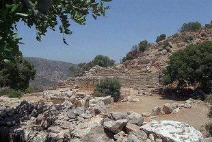 L'Agora et la place principale de l'ancienne Lato