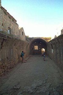 The historical gunpowder room in Arkadi Monastery
