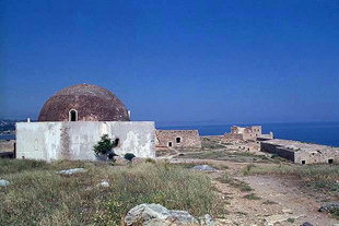 The Ibrahim Mosque in the Fortezza, Rethimnon