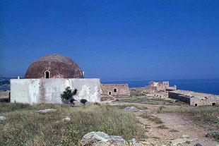 Die Ibrahim-Moschee in der Fortezza, Rethimnon