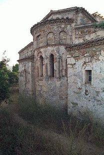 The Byzantine church of Ai Yannis Kyr-Yannis in Alikianos