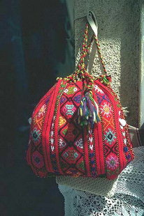 A traditional village knapsack, Anogia
