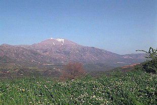 Mount Psiloritis and the Amari Valley