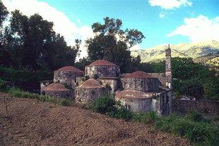 L'église Byzantine d'Agios Fanourios à Kitharida