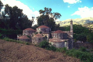 Die byzantinische Agios Fanourios-Kirche in Kitharida
