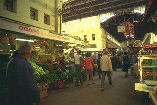 Le marché de Chania (Agora)